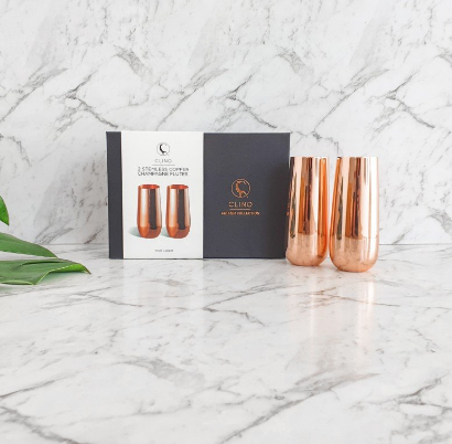 Champagne Flutes With Packaging