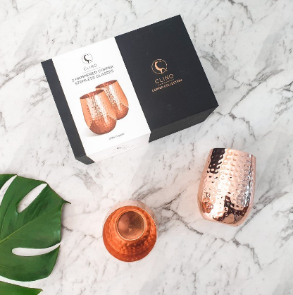 Copper Glasses Packaging