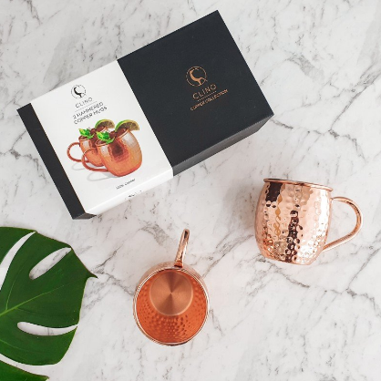 Copper Mug With Packaging