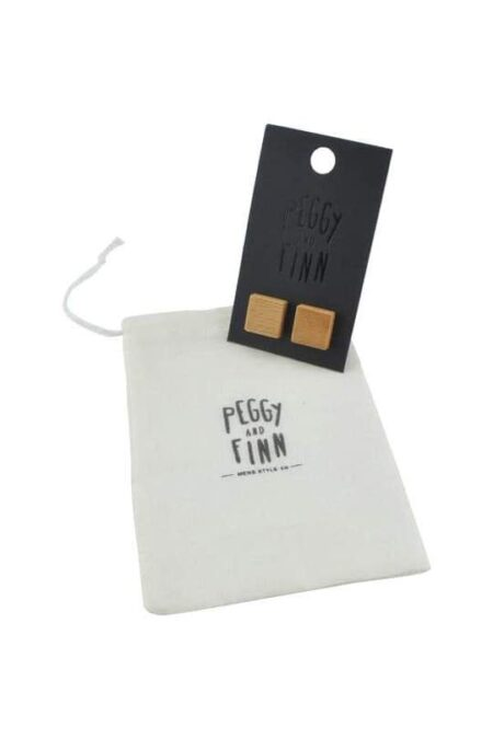 Cufflinks Tasmanian Oak Packaging