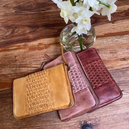 Pearl Zip Wallet Three