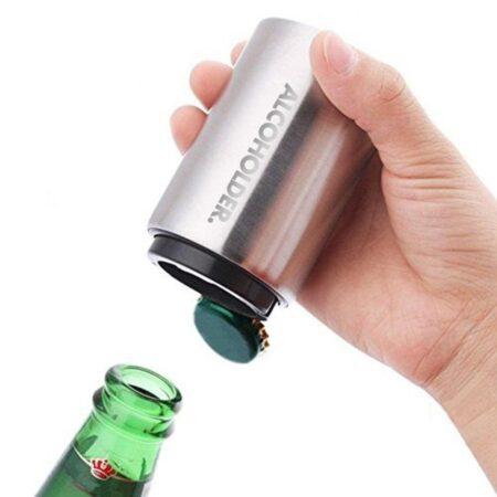Pop Top Opener With Bottle