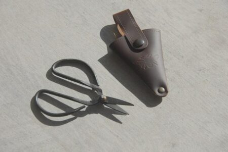 Scissors In Leather Pouch 1