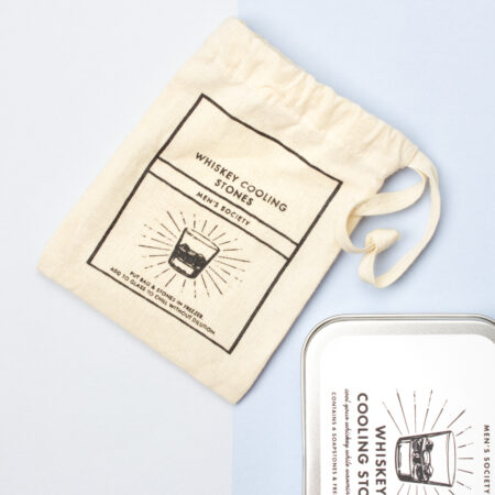 Whiskey Cooling Stones Pouch